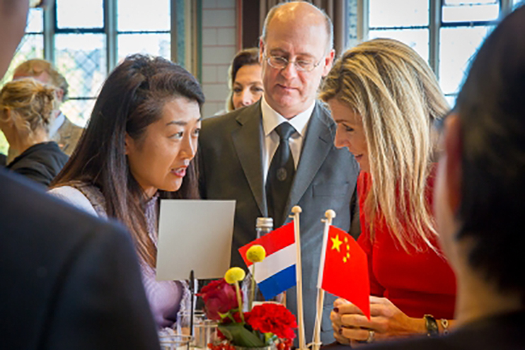 King and Queen consult China experts in Leiden