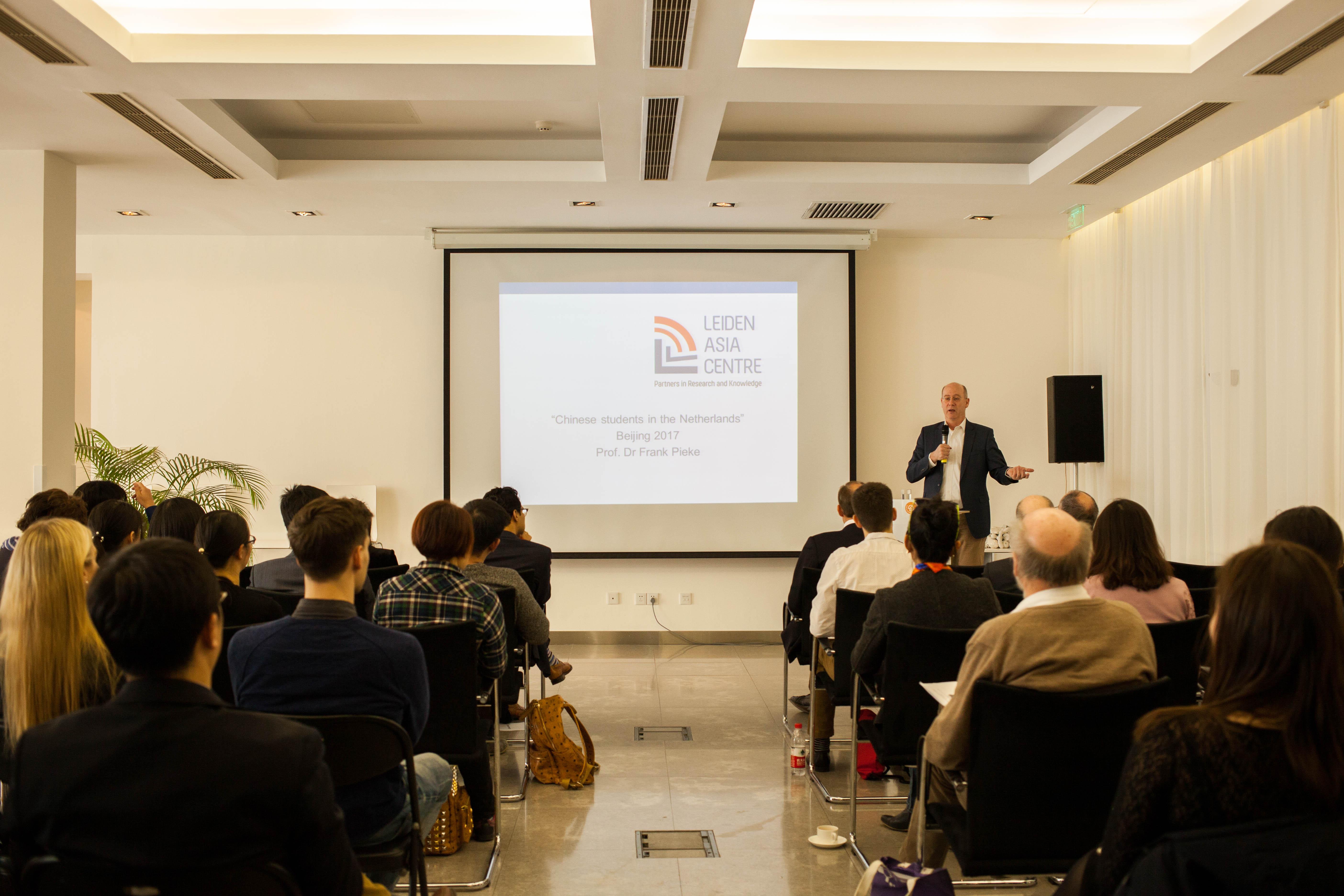 Presentatie Onderzoeksrapporten in Beijing