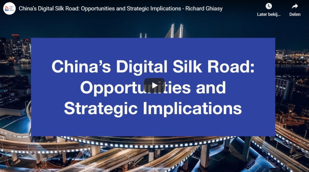 Interview with Richard Ghiasy on the implications of the Digital Silk Road for the EU and India