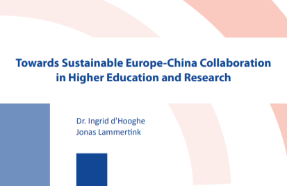 Towards Sustainable Europe-China Collaboration in Higher Education and Research
