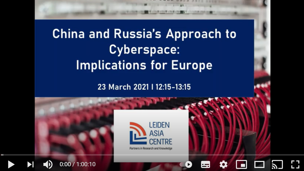 "Rewatch ""China and Russia's approach to cyberspace: Implications for Europe"""